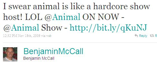 Twitter - Benjamin McCall- I swear animal is like a h ...SMALL_5831928090-091118