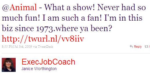 Twitter - Janice Worthington- @Animal - What a show! Nev ..SMALL_2462660556-090703