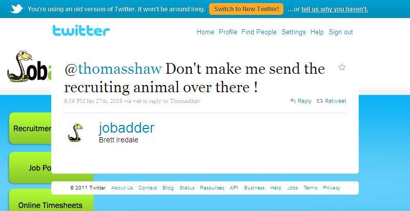 Twitter - Brett Iredale- @thomasshaw Don't make me ..._1302291684758