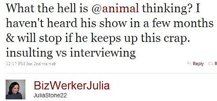 Twitter - Julia Stone - What is animal thinking