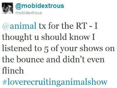 Twitter - @mobidextrous- @animal tx for the RT - I ..._104161991102435328-110818-reduced
