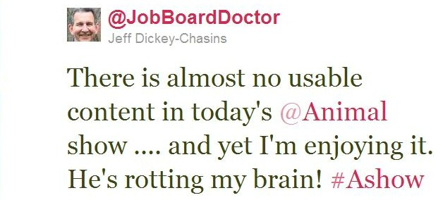 Twitter - @JobBoardDoctor- There is almost no usable ..._101328040314937344-110810-REDUCED