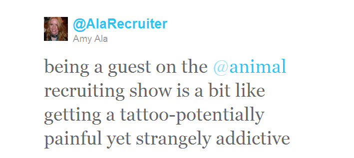 Twitter - @AlaRecruiter- being a guest on the @anim ..._124265964257816577-111012