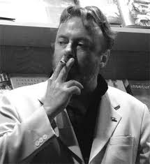Hitchens smoking