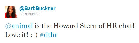 Buckner howard stern of hr chat