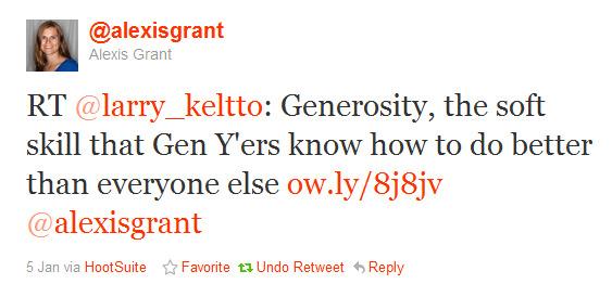 Twitter - @alexisgrant- RT @larry_keltto- Generosi ..._154943336673841152-120105