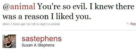 Twitter Stephens You're so evil EDITED