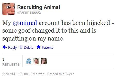 Name 120619 Twitter _ animaliaaa2_ My @animal account has bee' - twitter_com_animaliaaa2_status_215071580949192705