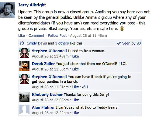 Jerry dissing animal's group v2