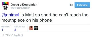 15 08 05 gregg d matt is too short to reach the phone