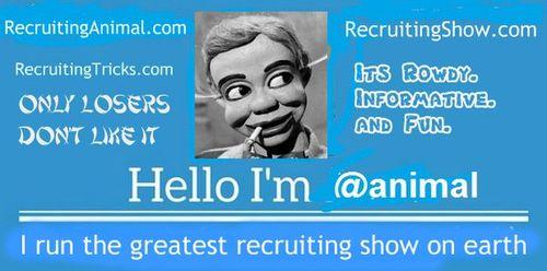 Good Recruiter Card format